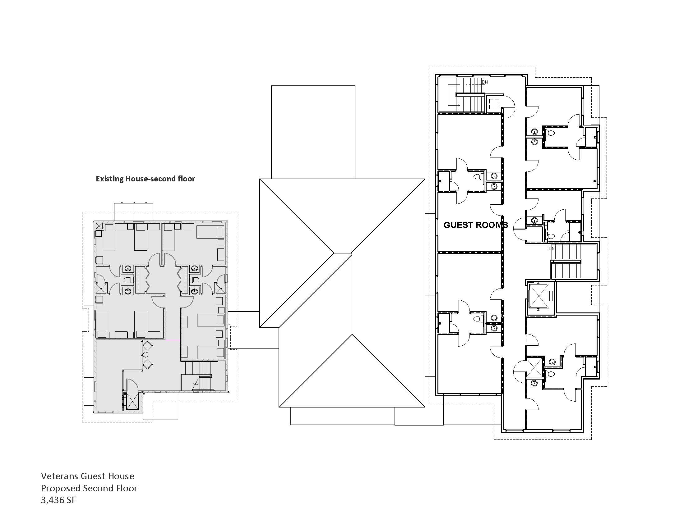 Proposed Second Floor