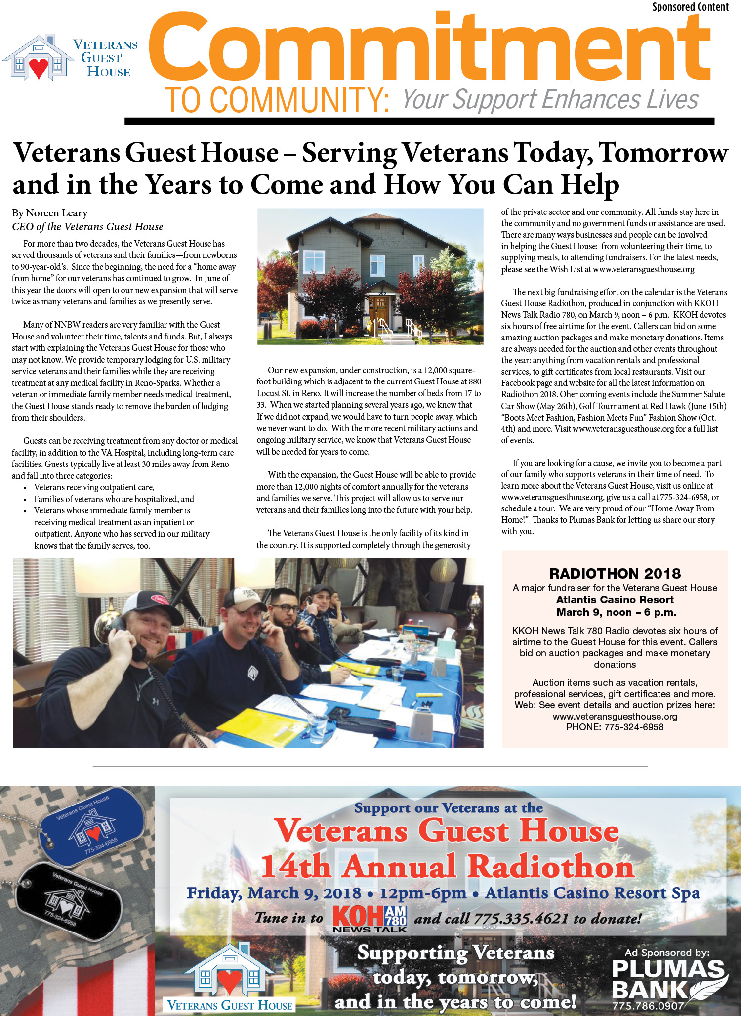 Veterans Guest House - In The News   Veterans Guest House